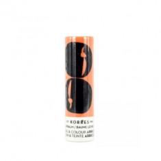 Бальзам-стик для губ Korres уход и цвет -абрикос, 5 мл