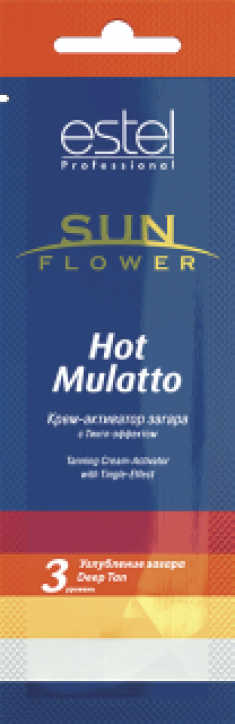 ESTEL PROFESSIONAL Крем-активатор загара / Sun Flower Hot Mulatto 15 мл