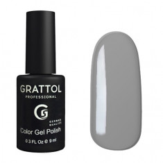Grattol, Гель-лак Classic Collection №019, Pastel Grey