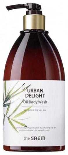 Гель для душа с маслом новозеландского льна The Saem URBAN DELIGHT Oil Body Wash 400мл