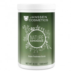 Скраб для тела обновляющий с экстрактом торфа Janssen Cosmetics Green Freshness Scrub 1000 мл