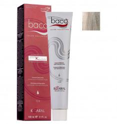 KAARAL 10.0SK краска для волос, очень светлый блондин пепельный / Baco SilKera 100 мл