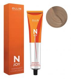 OLLIN PROFESSIONAL 10/0 крем-краска перманентная для волос, светлый блондин / N-JOY 100 мл