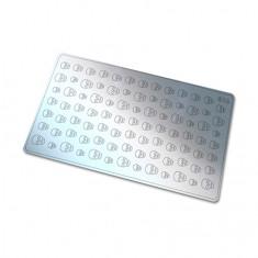 Freedecor, Металлизированные наклейки №113, серебро