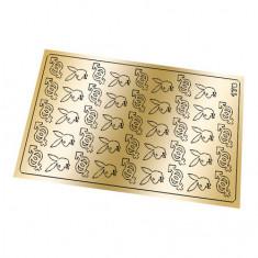 Freedecor, Металлизированные наклейки №178, золото