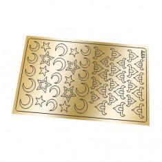 Freedecor, Металлизированные наклейки №177, золото