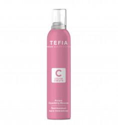 TEFIA Мусс-эквалайзер протеиновый для волос / Color Creats 200 мл