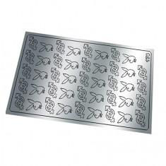 Freedecor, Металлизированные наклейки №178, серебро