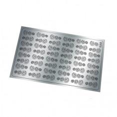Freedecor, Металлизированные наклейки №166, серебро
