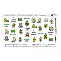 BPW.style, Слайдер-дизайн «Авокадо» №5-1649