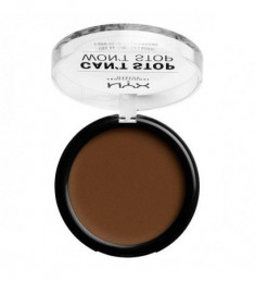 NYX PROFESSIONAL MAKEUP Тональная основа-пудра Can't Stop Won't Stop Powder Foundation - Walnut 24