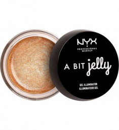 NYX PROFESSIONAL MAKEUP Гелевый хайлайтер A Bit Jelly Gel Illuminator - Luminous