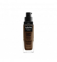 NYX PROFESSIONAL MAKEUP Тональная основа Can't Stop Won't Stop Full Coverage Foundation - Deep Cool 39