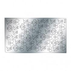 Freedecor, Металлизированные наклейки №209, серебро