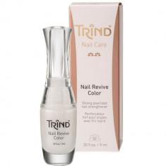 Укрепитель для ногтей без формальдегида перламутр Nail Revive Pure Pearl Trind