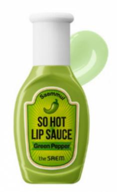 Горячий соус для губ THE SAEM Saemmul So Hot Lip Sauce 01 Green Pepper 9,5г