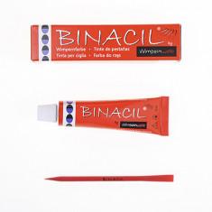 Binacil, Краска для бровей и ресниц, иссиня-черная, 15 мл