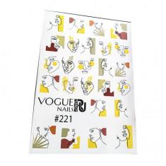 Vogue Nails, Слайдер-дизайн №221