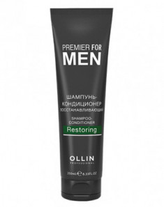 Шампунь-кондиционер восстанавливающий OLLIN PREMIER FOR MEN Shampoo-Conditioner Restoring 250мл