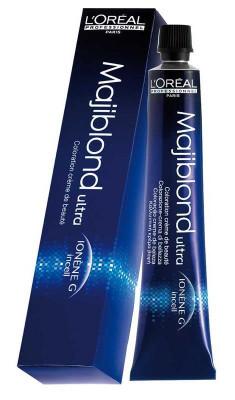 Суперосветляющая крем-краска L'Oreal Professionnel MAJIBLOND ULTRA 901S Очень яркий блондин пепельный 50мл L'Oréal Professionnel