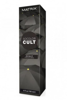 Краска для волос MATRIX Socolor Cult черный 118мл