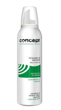 CONCEPT Мусс-эликсир для волос Легкость и объем / Salon Total Volume Up Mousse 200 мл