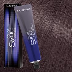 Краска для волос без аммиака Matrix Color Sync POWER COOLS 7VA Блондин пепельно-фиолетовый 90мл