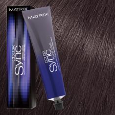 Краска для волос без аммиака Matrix Color Sync POWER COOLS 5VA Коричневый ясень 90мл