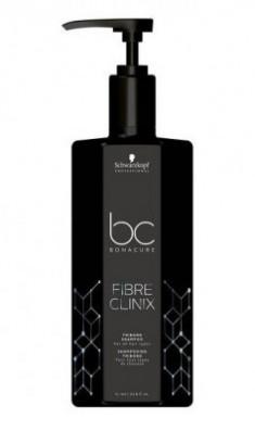 Шампунь для поврежденных волос Schwarzkopf professional Bonacure Fibre Clinix Shampoo 1000 мл