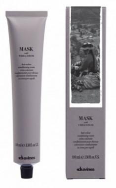 Краска для волос Davines Mask with Vibrachrom 12,18 Пепельно-зеленоватый экстраблонд 100мл