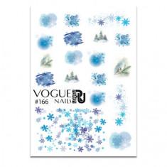 Vogue Nails, Слайдер-дизайн №166