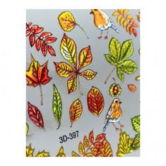 AnnaTkacheva,3D-слайдерCrystal№397 «Осень. Листья» Anna Tkacheva