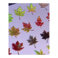 AnnaTkacheva,3D-слайдерCrystal№689 «Осень. Листья» Anna Tkacheva
