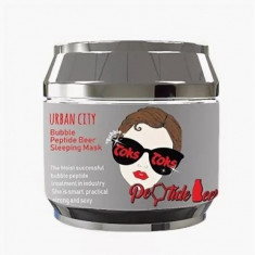 маска для лица ночная пептидная baviphat urban city bubble peptide beer sleeping mask
