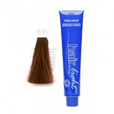 Крем-краска для волос Hair Company HAIR LIGHT CREMA COLORANTE 6.31 тёмно-русый золотисто-пепельный 100мл