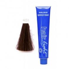 Крем-краска для волос Hair Company HAIR LIGHT CREMA COLORANTE 4.01 каштановый натуральный сандрэ 100мл