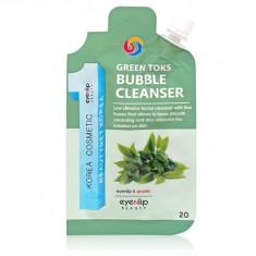 Eyenlip Pocket Green Toks Bubble Cleanser