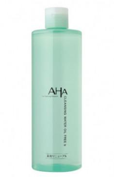 Средство снятия макияжа с фруктовыми кислотами BCL Cleaning Research Cleansing Water Oil Free 400 мл