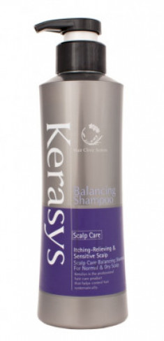 Шампунь для жирной и проблемной кожи головы KeraSys 400 г