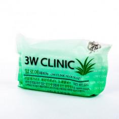 Мыло кусковое АЛОЭ 3W CLINIC Aloe Soap 150 г