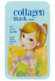 Маска тканевая коллагеновая лифтинговая FASCY SCARF Tina Collagen Mask 26г