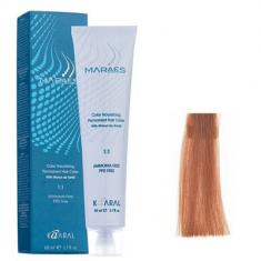 Крем-краситель стойкий без аммиака Kaaral Maraes Nourishing Permanent Hair Color 8.84 светлый коричнево-медный блондин 60 мл