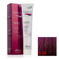 Крем-краска Kaaral Baco Color 6.20 темный фиолетовый блондин 100 мл
