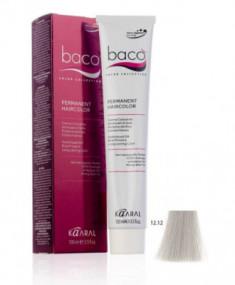 Крем-краска Kaaral Baco Color 12.12 экстра светлый блондин пепельно-фиолетовый100 мл
