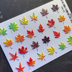 AnnaTkacheva,3D-слайдер№689 «Осень. Листья» Anna Tkacheva