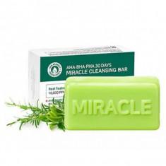 мыло для проблемной кожи с aha bha кислотами some by mi aha-bha-pha 30 days miracle cleansing bar