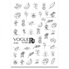 Vogue Nails, Слайдер-дизайн №193
