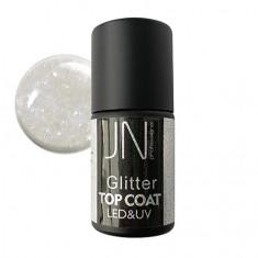 JessNail, Топ без липкого слоя Glitter №03, 10 мл