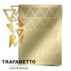 Trafaretto, Металлизированные наклейки GM-04, золото