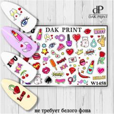 Dak Print, Слайдер-дизайн №1458
